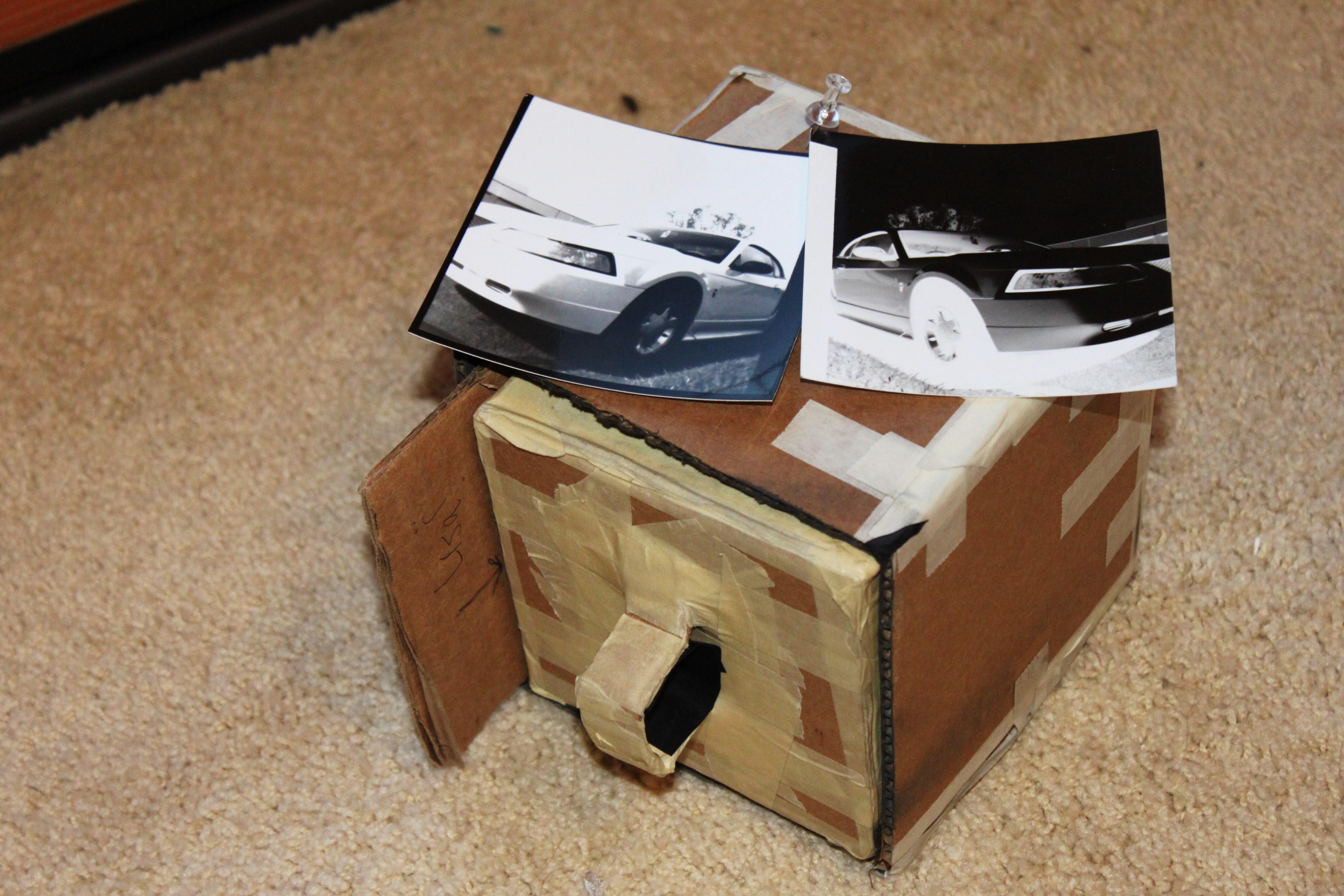 how to make a pinhole camera for class 6